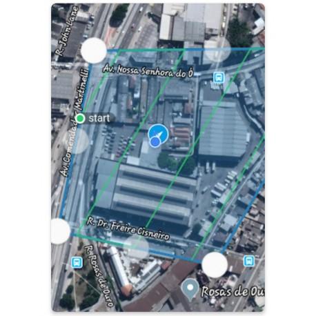 Topografia por Vant Drones